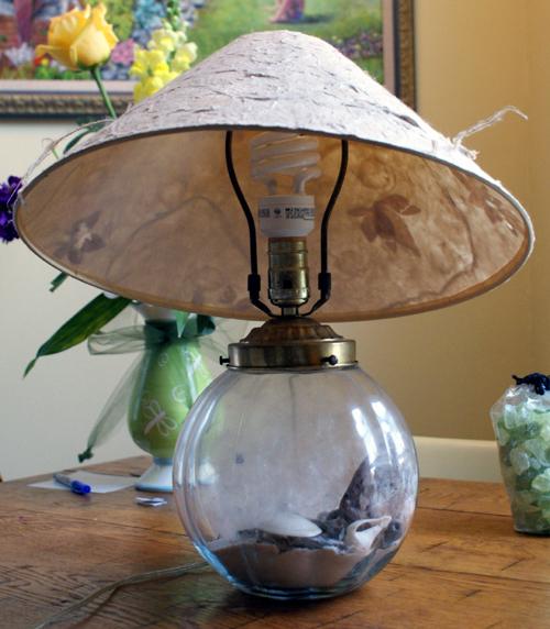Globelampbefore